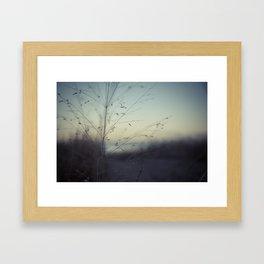 Dunes of Erie Framed Art Print