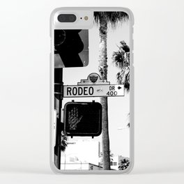 Rodeo Drive Clear iPhone Case