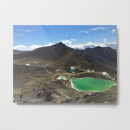 Tongariro Alpine Crossing Metal Print