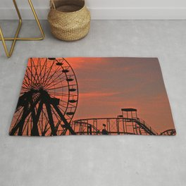 Sundown in Fun Town Rug