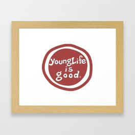 younglife Framed Art Print