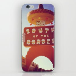 South Of the Border! iPhone Skin