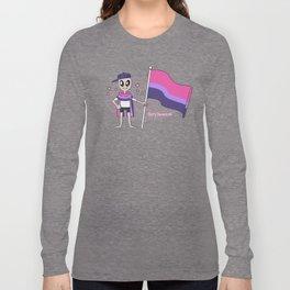 Soft Space Bi Pride Long Sleeve T-shirt