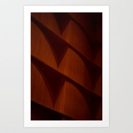 Dark Corners (color) Art Print