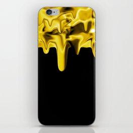 Drippin' Gold iPhone Skin