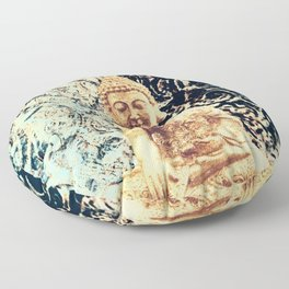 Earth Zen Buddha Floor Pillow