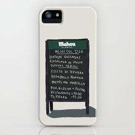 Madrid iPhone Case