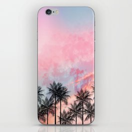Summer Palm Tree #Society6 #Buyart #Decor iPhone Skin