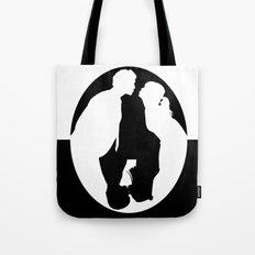 Pushing Daisies silhouette kiss Tote Bag