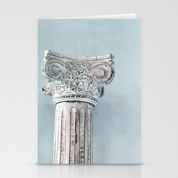 Corinthian capital Stationery Cards