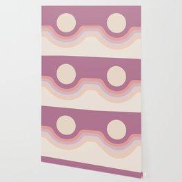 Lilac Rainbow Canyon Wallpaper