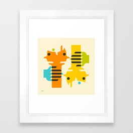 CLOSER Framed Art Print