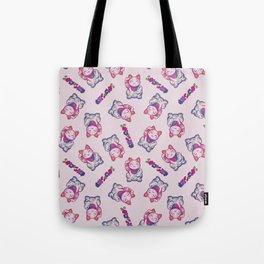 Maneki Neko Cotton (Bare Version) Tote Bag