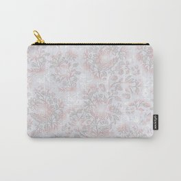 Flower Style Pattern XLIII Carry-All Pouch