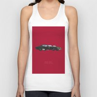 mad max Tank Tops featuring Mad Max | Famous Cars by Fred Birchal