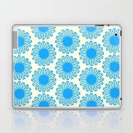 Vintage Flower_Turquoise Laptop & iPad Skin