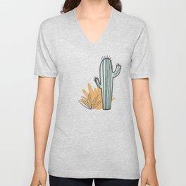 Simply Cactus Unisex V-Neck