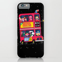 Universal Cereal Bus iPhone Case