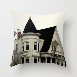 Ghostly Gothic Throw Pillow