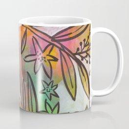 Bright Colorful Jungle Canopy Coffee Mug