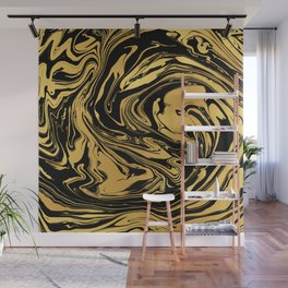 Black and Gold Marble Edition 2 Wall Mural