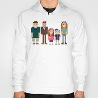 gravity falls Hoodies featuring Gravity Falls 8-bit by Evelyn Gonzalez