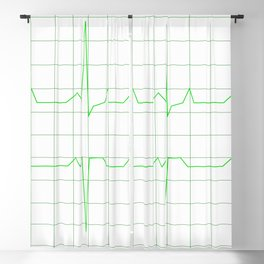 Normal Heart Rhythm Blackout Curtain