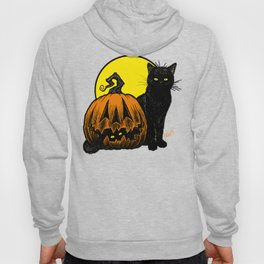Still Life with Feline and Gourd Hoody