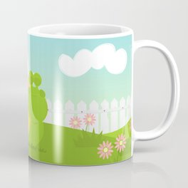 Green Snail (male) Coffee Mug