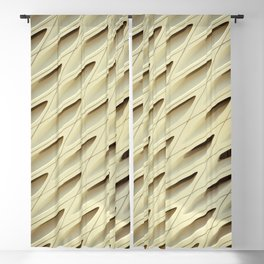 The Broad In the Afternoon Vintage Retro Pattern Photography I Blackout Curtain