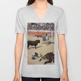 Ramon Casas - Bulls, Dead Horses - Digital Remastered Edition Unisex V-Neck