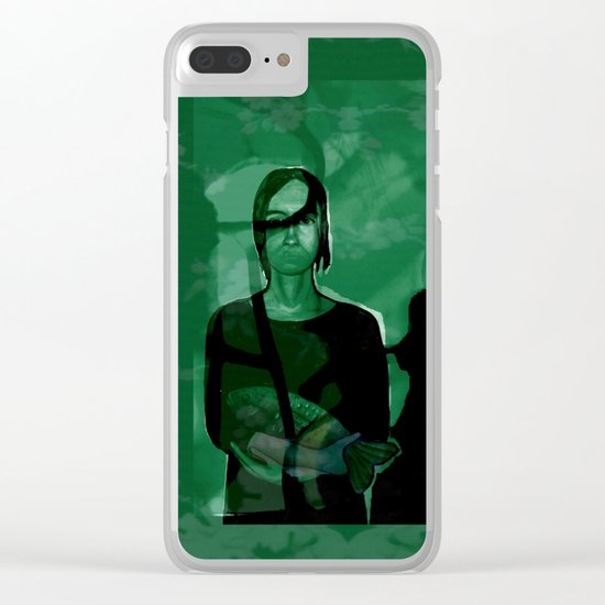 FRIDAmorphosis Clear iPhone Case