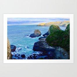 Rugged Coast Art Print