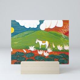 Yuko Nagamori | Hi to Tsuki no Aidani, 2011 Mini Art Print