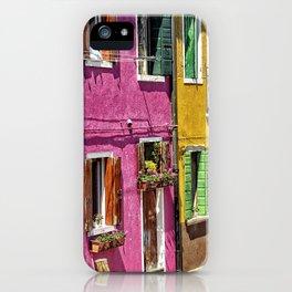 Burano, Venice - Italy iPhone Case