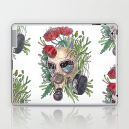 Poppy Gas Mask - Colorfull Laptop & iPad Skin
