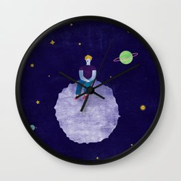 Little asteroid Wall Clock