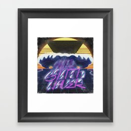 Synthwaver Framed Art Print