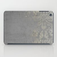 damask iPad Cases featuring Grunge Damask by cafelab