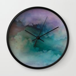 Astral Projection by Nature Magick Wall Clock