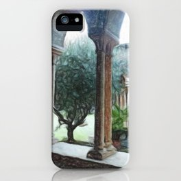 Spiritual place iPhone Case