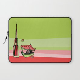 Abra by the Burj Khalifa Laptop Sleeve