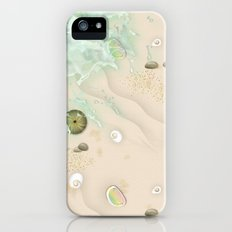 Walking on the beach iPhone (5, 5s) Slim Case