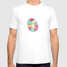 Easter Surprise MEDIUM White Mens Fitted Tee