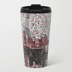 portland city skyline Travel Mug