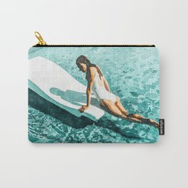 Pool Day #society6 #painting #summer Carry-All Pouch