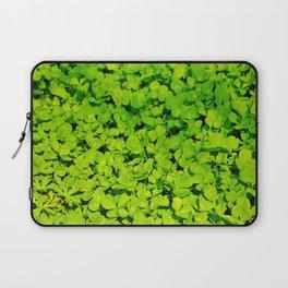Green Clover Laptop Sleeve