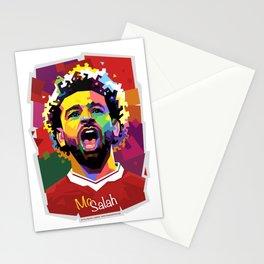 Mo Salah WPAP Stationery Cards