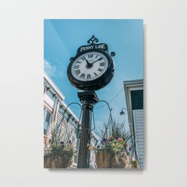 Time at Penny Lane Metal Print