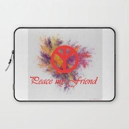 peace my friend Laptop Sleeve